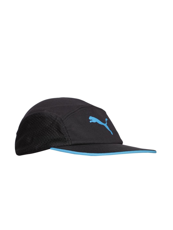 Buy PUMA Unisex Black P Disc Fit Running Cap - Caps for Unisex ... 0e927fa39d9