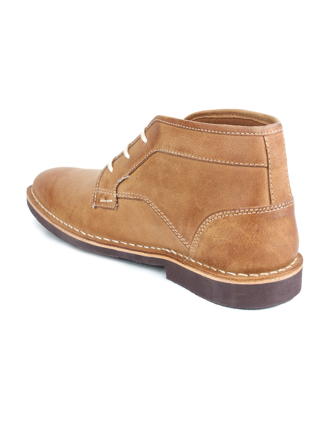 Buy Red Tape Men Tan Brown Leather Chukka Boots - Casual Shoes for ... 58615e5c9db
