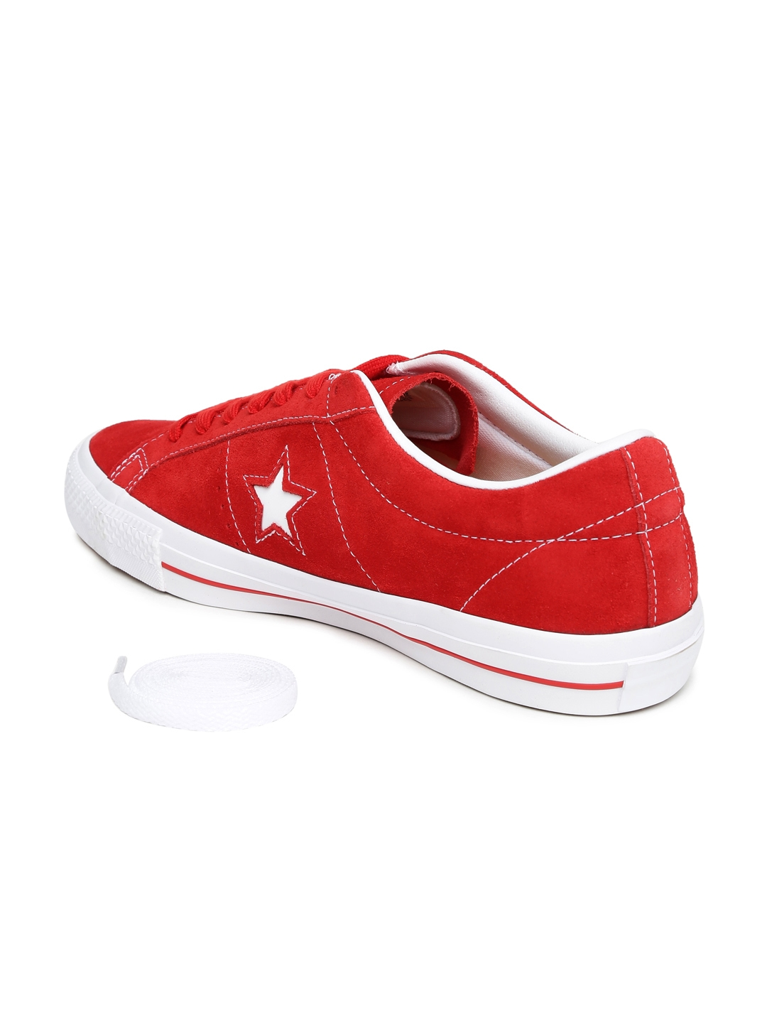 3df5f3e6ae7743 Buy Converse Unisex Red Suede Sneakers - Casual Shoes for Unisex ...