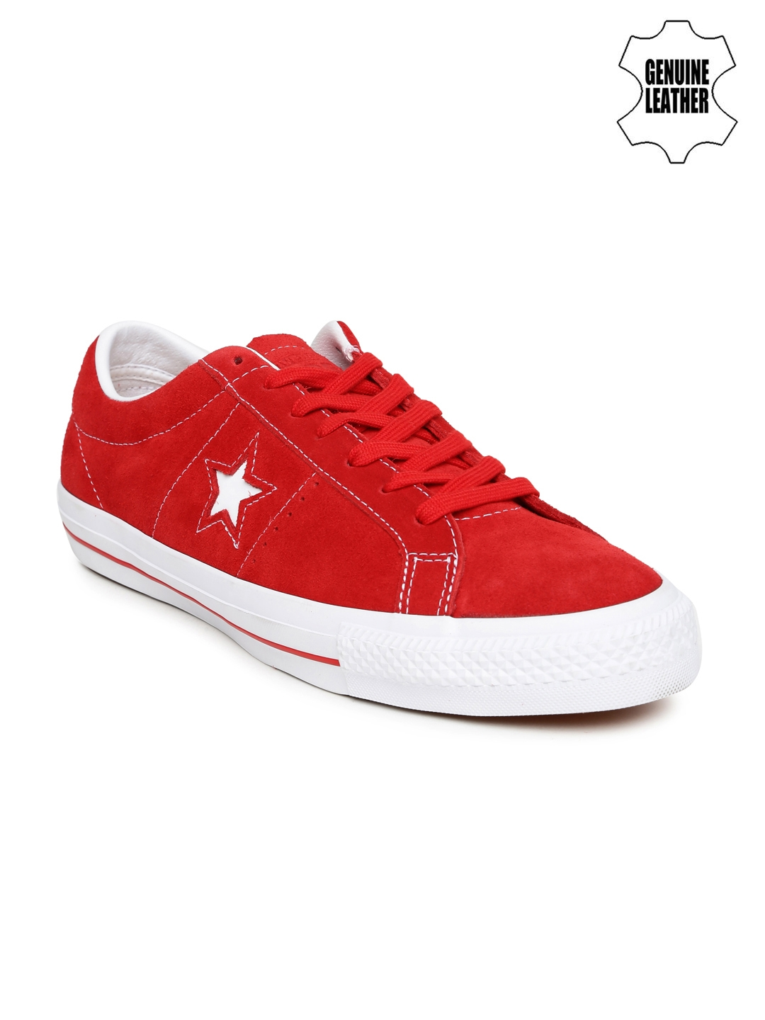 2c719248166c Buy Converse Unisex Red Suede Sneakers - Casual Shoes for Unisex ...