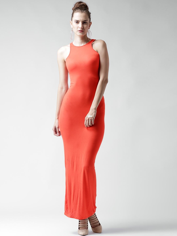 1a526d32700 Buy Boohoo Orange Maxi Dress - Dresses for Women 1415210