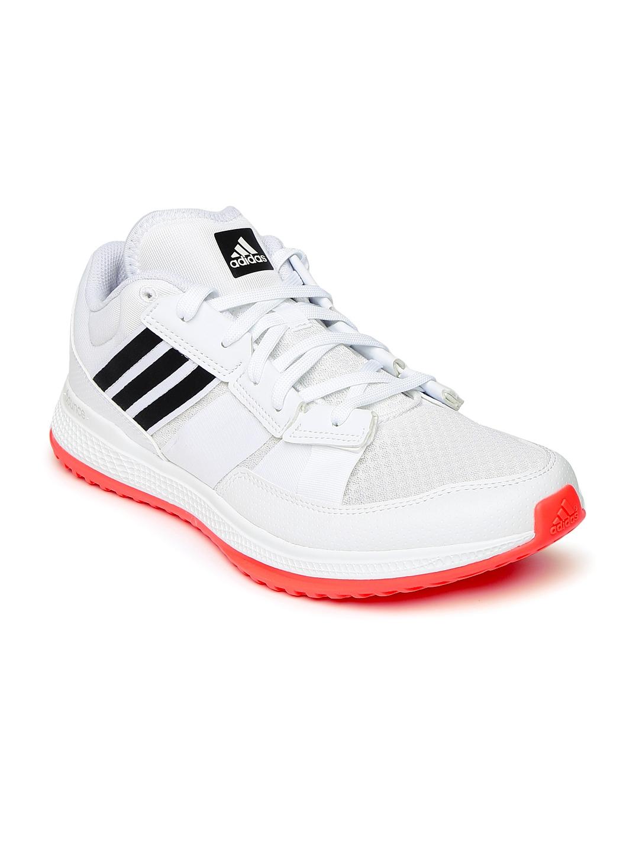 Buy ADIDAS Men White ZG Bounce Training Shoes - Sports Shoes for Men ... 0c5148ff7