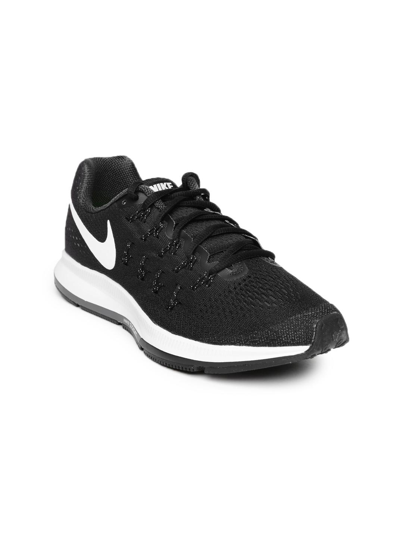 8d4619b9fe7d Buy Nike Women Black Air Zoom Pegasus 33 Running Shoes - Sports Shoes for  Women 1420966