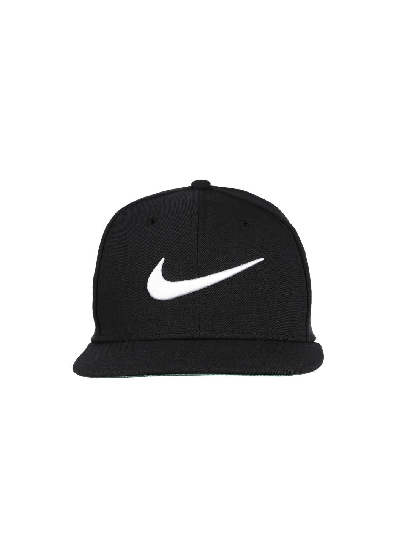 Buy Nike Unisex Black Swoosh Pro Cap - Caps for Unisex 1421442  4ba46934863