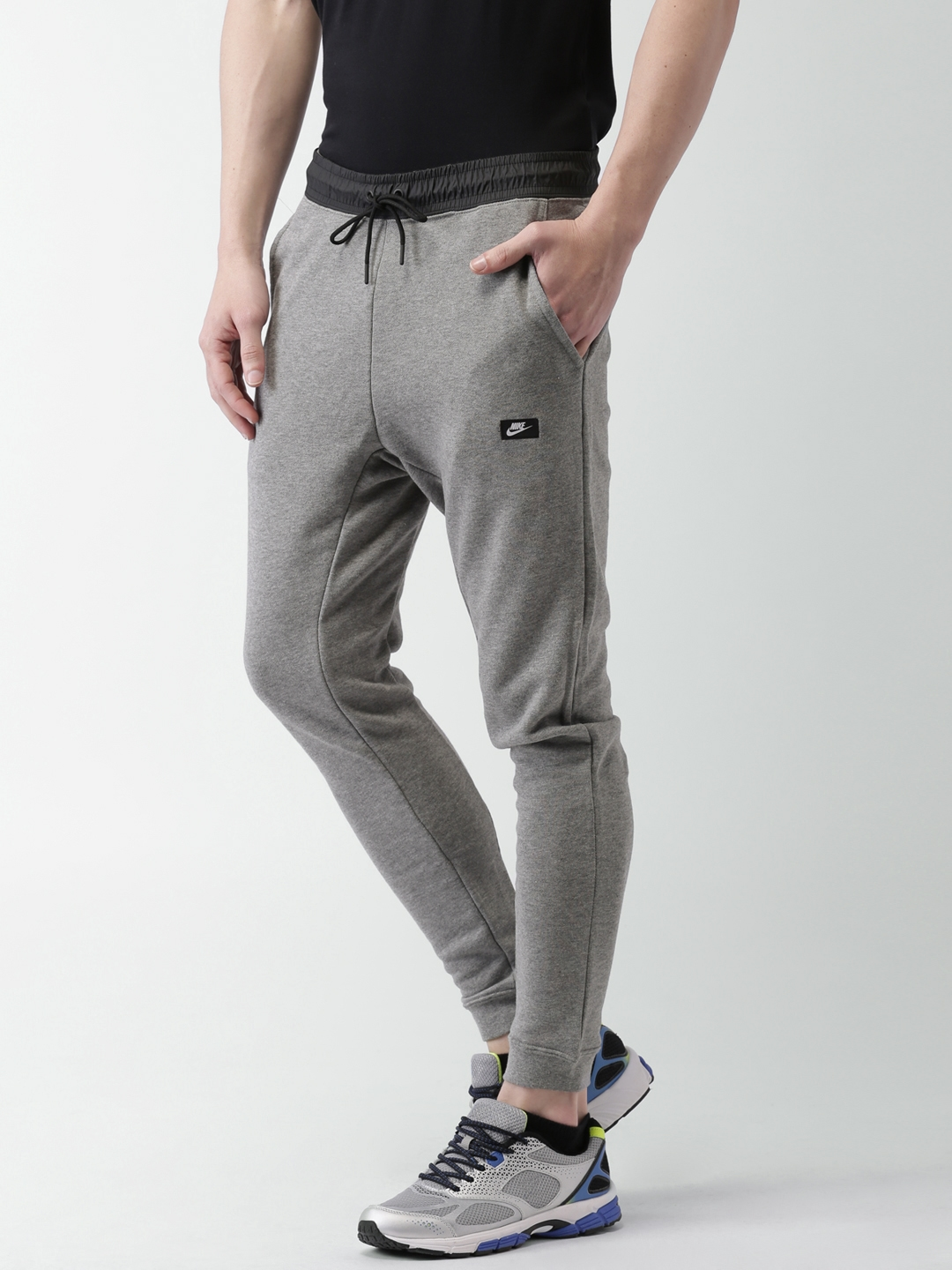 dfccd44726ce Buy Nike Grey Melange AS M NSW MODERN JOGGER FT Joggers - Track ...