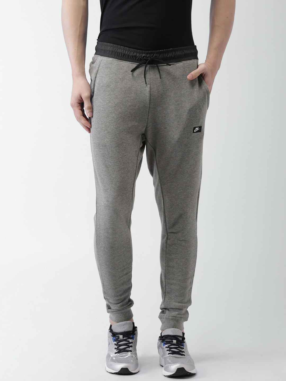 c527d19acc85 Buy Nike Grey Melange AS M NSW MODERN JOGGER FT Joggers - Track ...