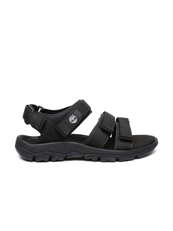 115ed3ccf64 Buy Timberland Men Black Sandals - Sandals for Men 1425654 | Myntra