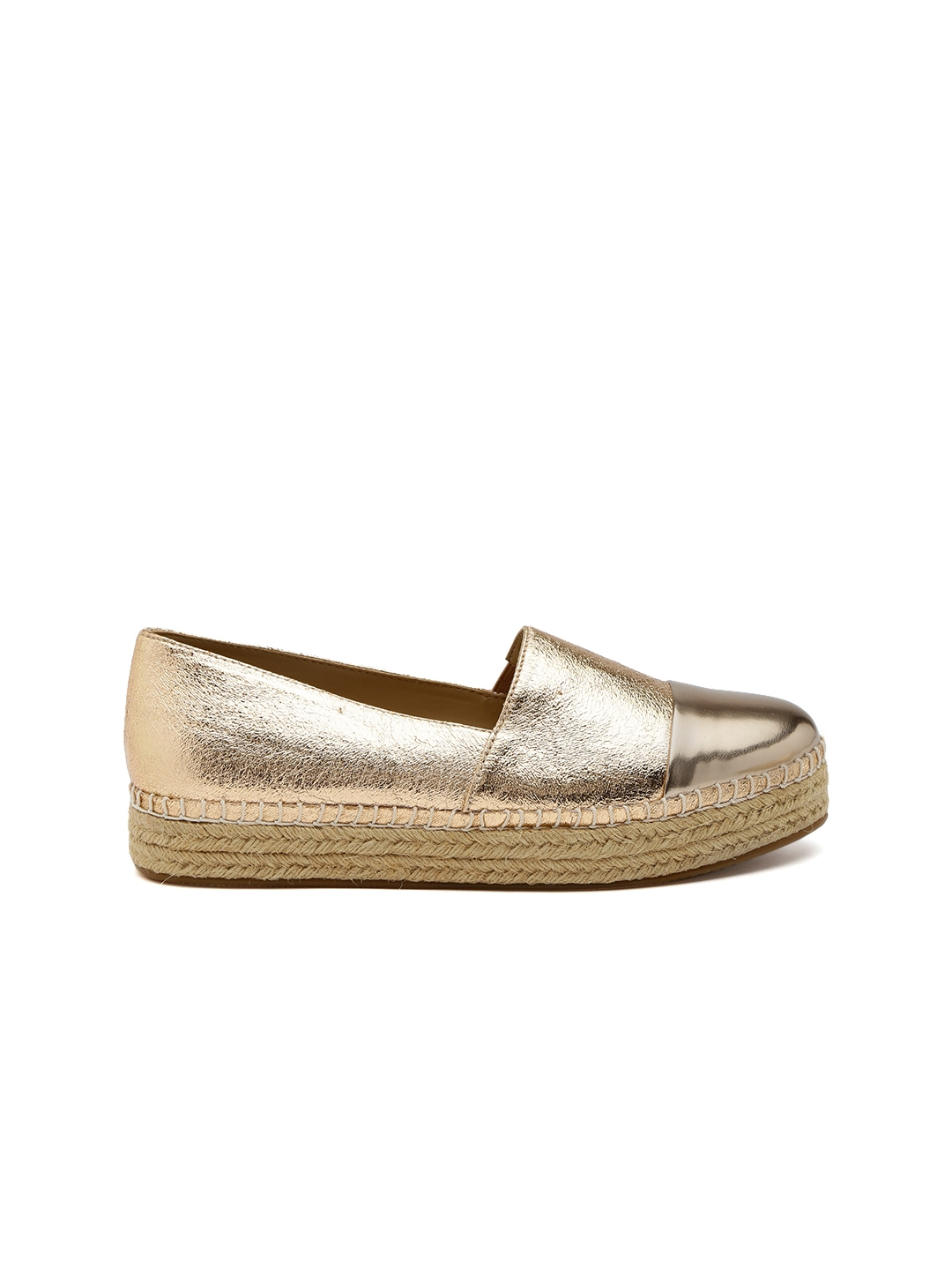 2cb47614f Buy Steve Madden Women Gold Toned Espadrilles - Casual Shoes for ...