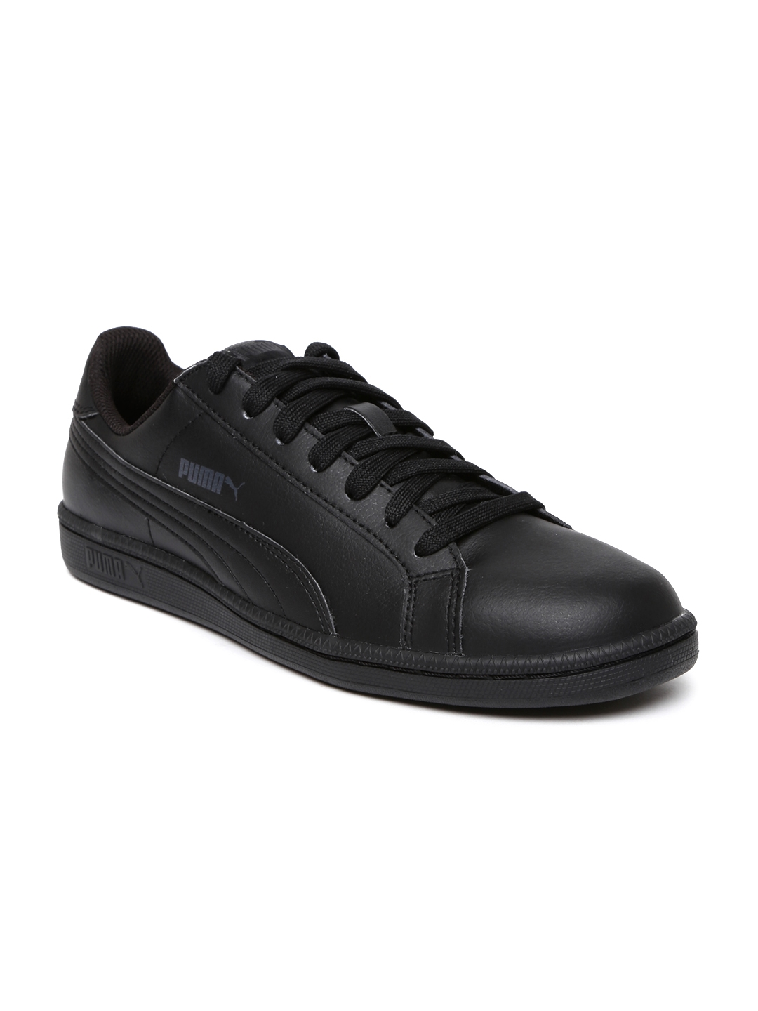 puma black sneakers shoes