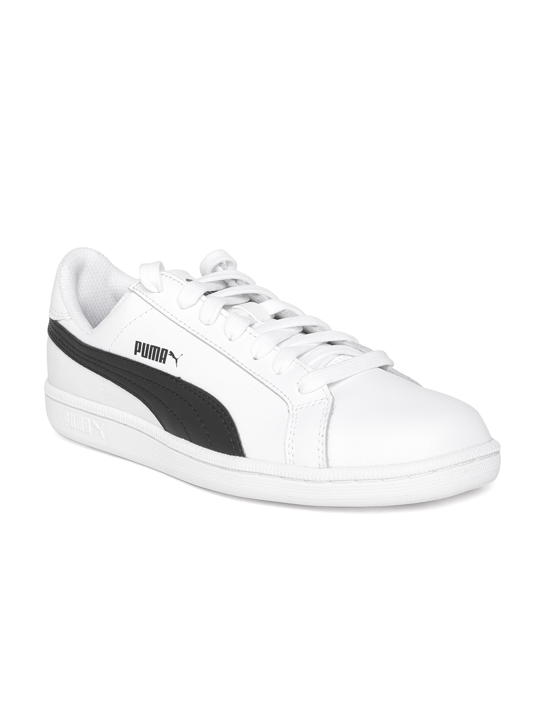 Buy PUMA Men White Smash Leather Sneakers - Casual Shoes for Men ... 4bfcc9e61