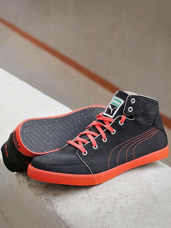 bd7c2b2629ea Buy Puma Men Black Drongos IDP Textured Sneakers - Casual Shoes for ...