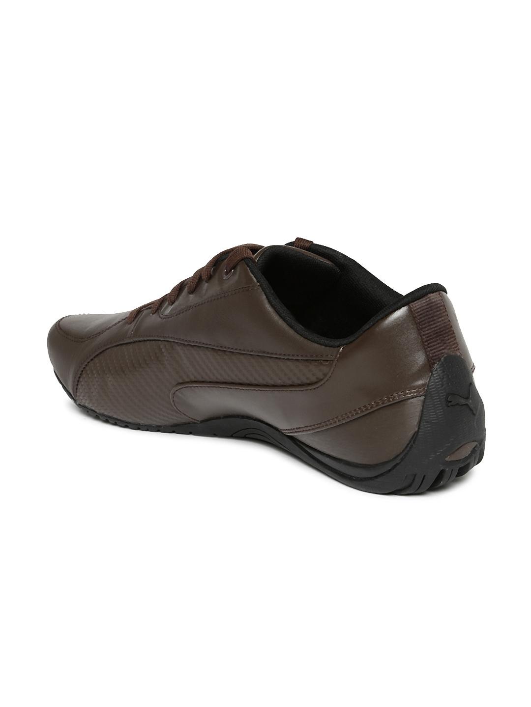 Buy Puma Men Brown Drift Cat 5 Carbon Sneakers - Casual Shoes for ... 811b63b47