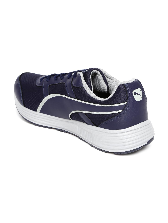 Buy PUMA Men Navy Harbour Fashion DP Running Shoes - Sports Shoes for Men  1434906  4b49581c9
