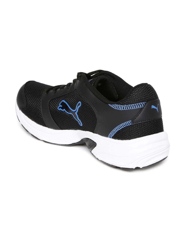 2d8c9f51f11 Buy PUMA Men Black Splendor DP Running Shoes - Sports Shoes for Men ...