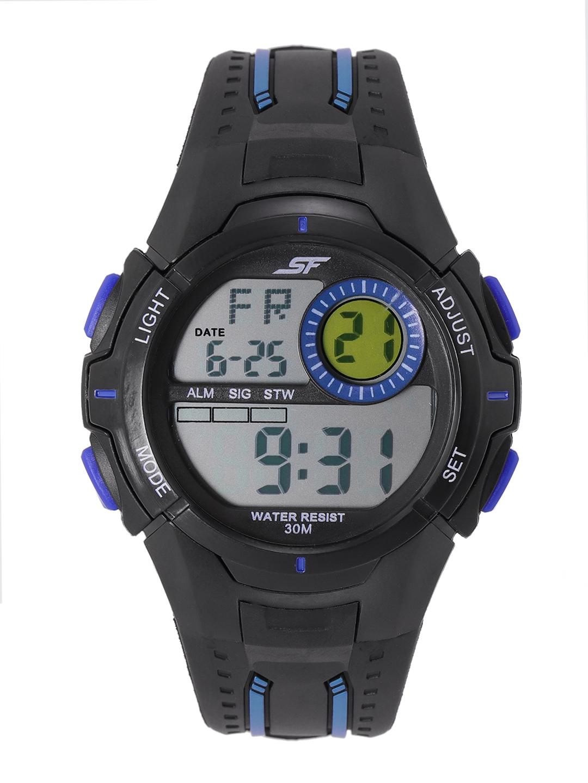 Sonata Men Black SF Essentials Digital Watch 77112PP04