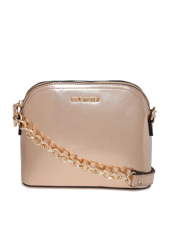 Buy Steve Madden Rose Gold Toned Sling Bag - Handbags for Women ...