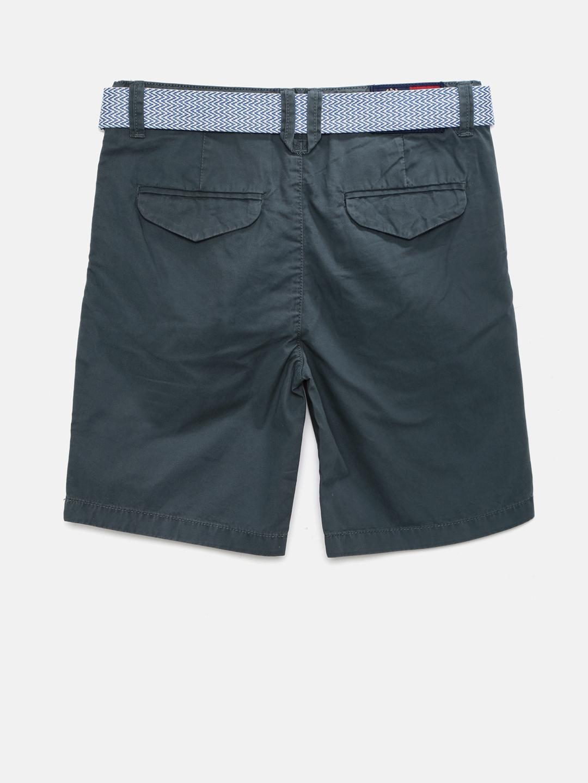 e929c6912390 Buy U.S. Polo Assn. Kids Boys Grey Chino Shorts - Shorts for Boys ...