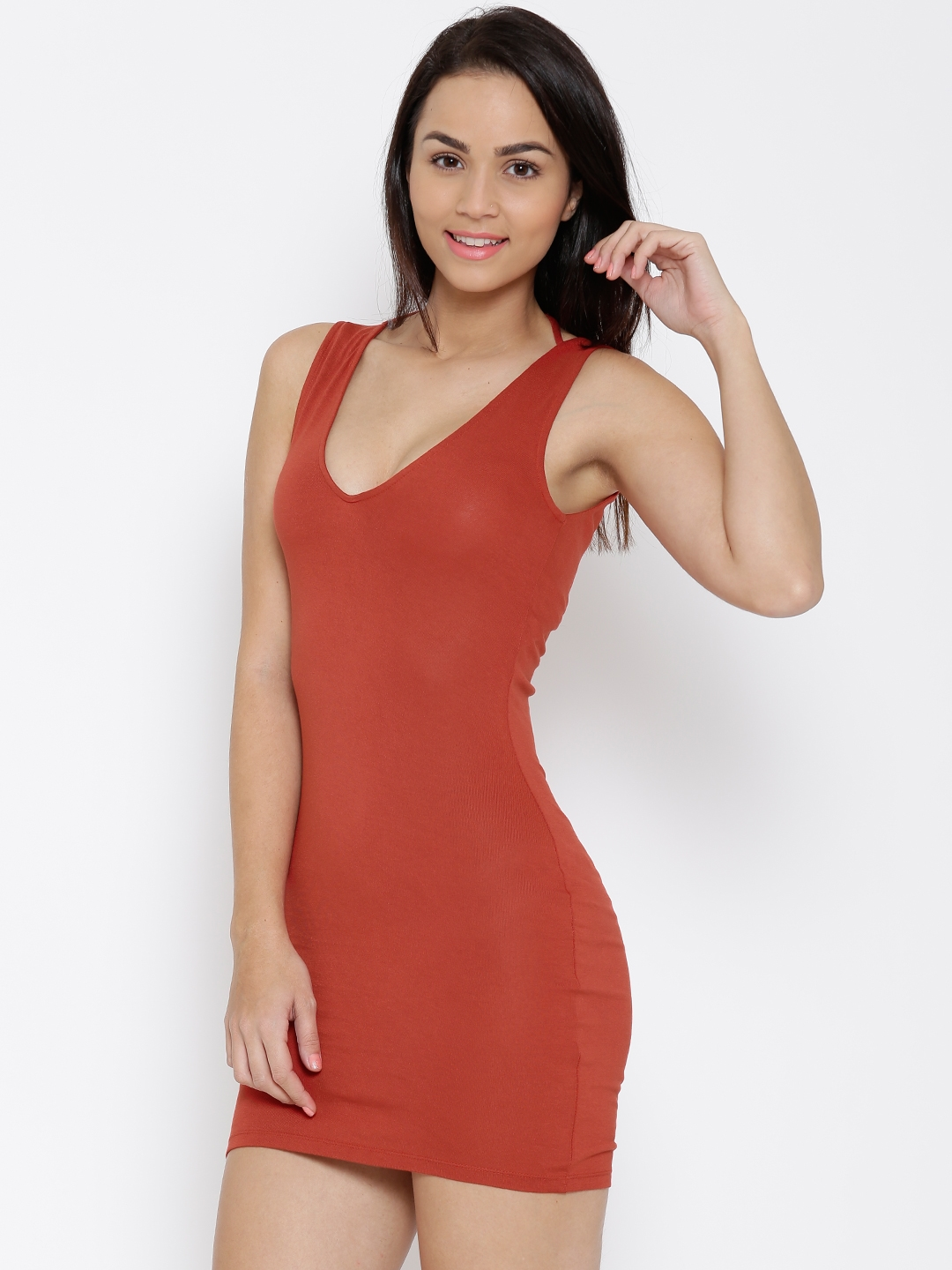 a3e68f0f3726 Red Bodycon Dress Forever 21