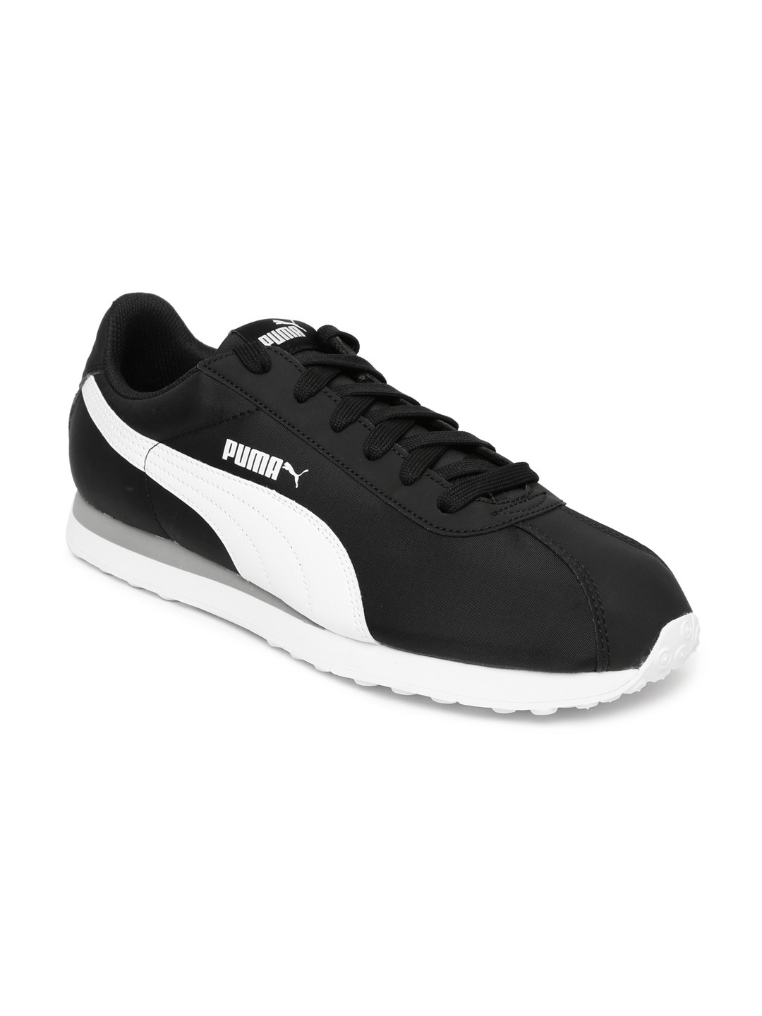Buy Puma Unisex Black TURIN NL Solid Sneakers - Casual Shoes for ... 1b1fb1ae8