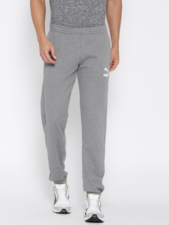 44e42741646c Buy PUMA Grey Archive Logo Sweat TR Track Pants - Track Pants for ...