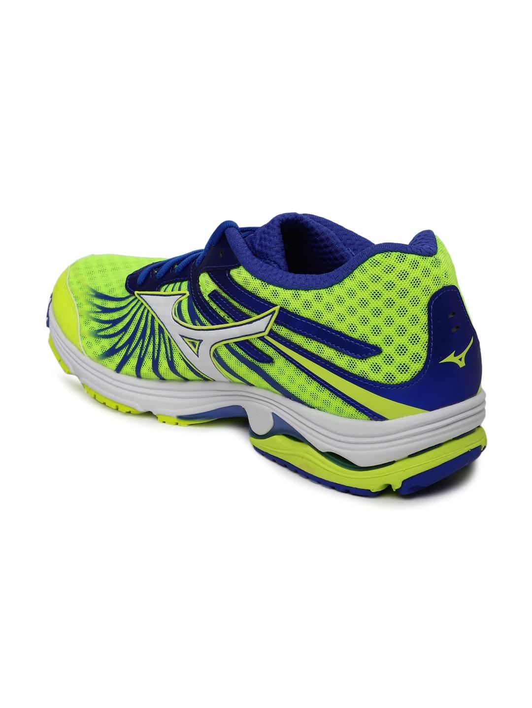 Buy Mizuno Men Yellow   Blue Wave Sayonara 4 Running Shoes - Sports ... 53d001ac02e