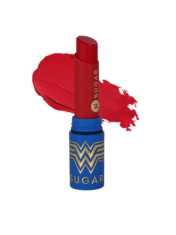 SUGAR X Wonder Women Everlasting Matte Lipstick   01 Warrior 50gm