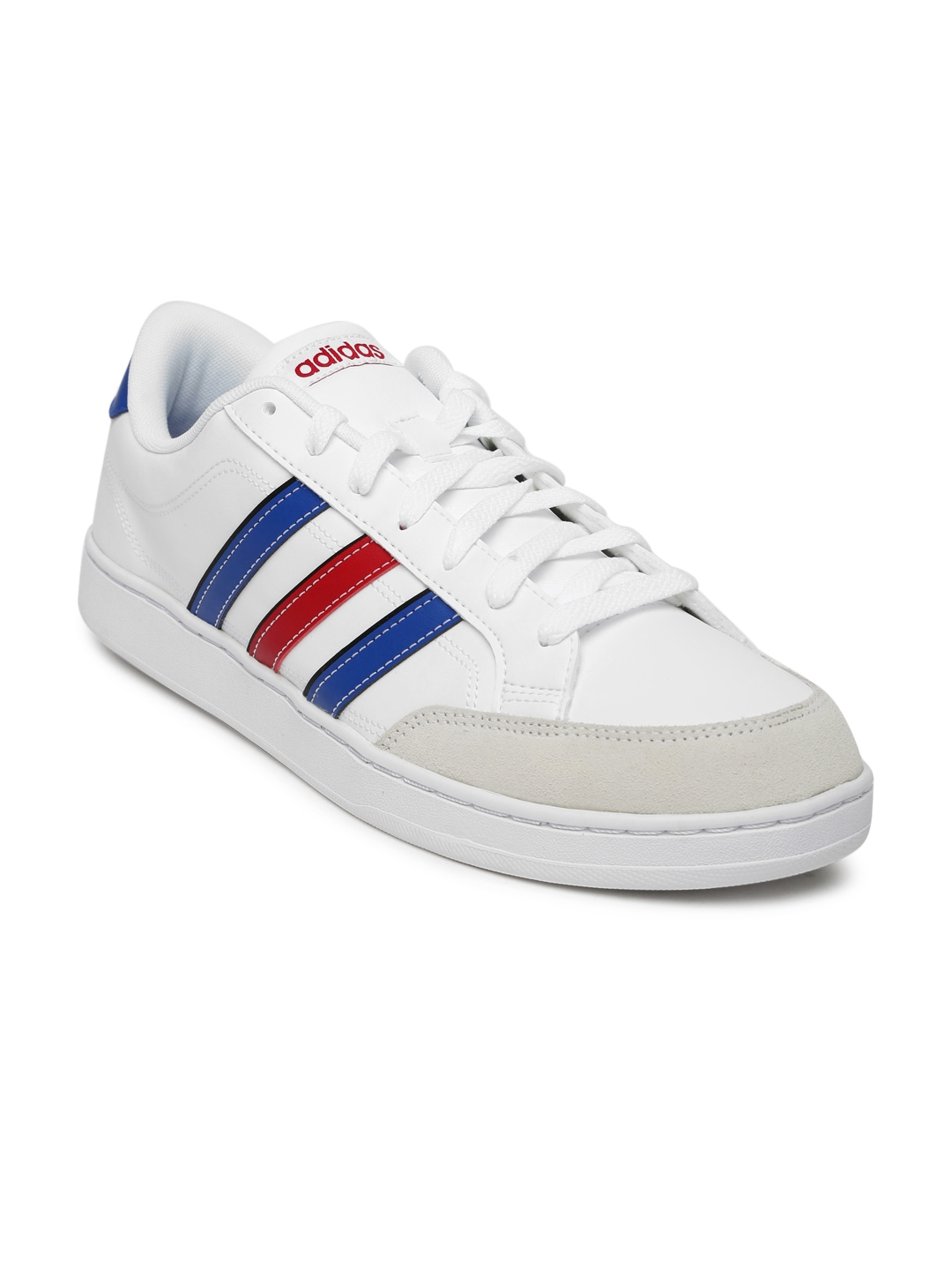 online store bb8cd 154d9 ADIDAS NEO Men White Courtset Sneakers