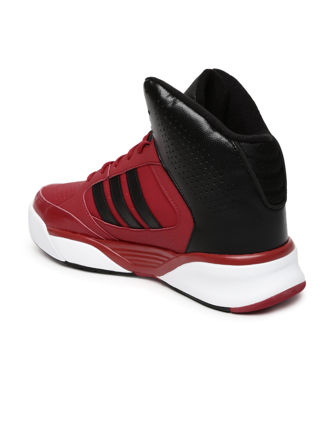 7c0d2b7853ef75 ... clearance adidas neo men red cloudfoam nightball sneakers bc311 6e427