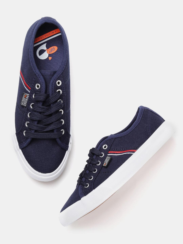 68a8d8c7555 Buy Kook N Keech Women Navy Sneakers - Casual Shoes for Women ...