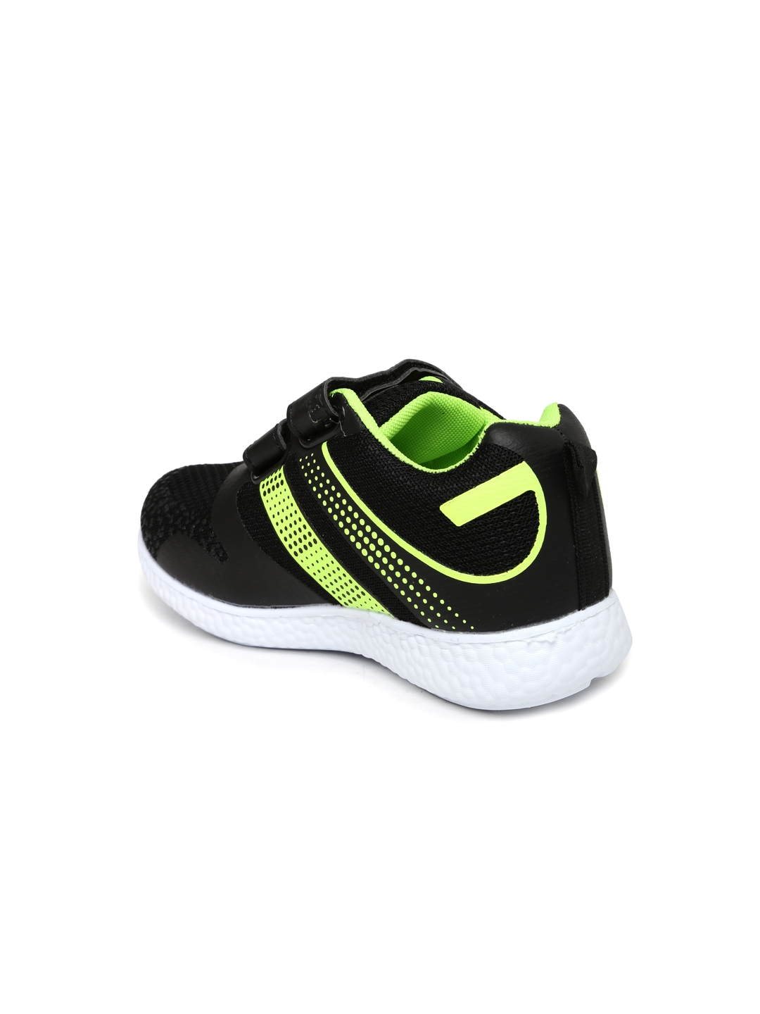 2d7f811944 Buy Kittens Boys Black Running Shoes - Sports Shoes for Boys 1470219 ...
