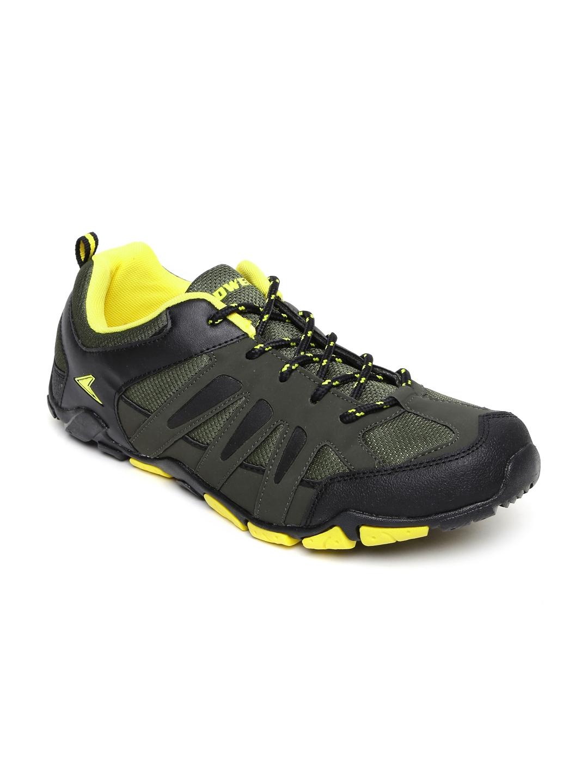 Power Men Green Lionel Running Shoes