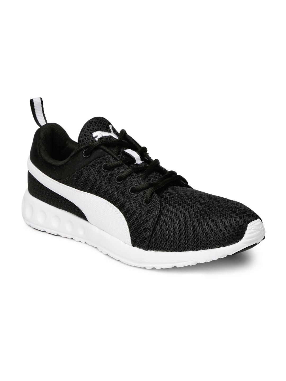 ccac82b12fb41c Buy Puma Men Black Carson Runner IDP Running Shoes - Sports Shoes ...