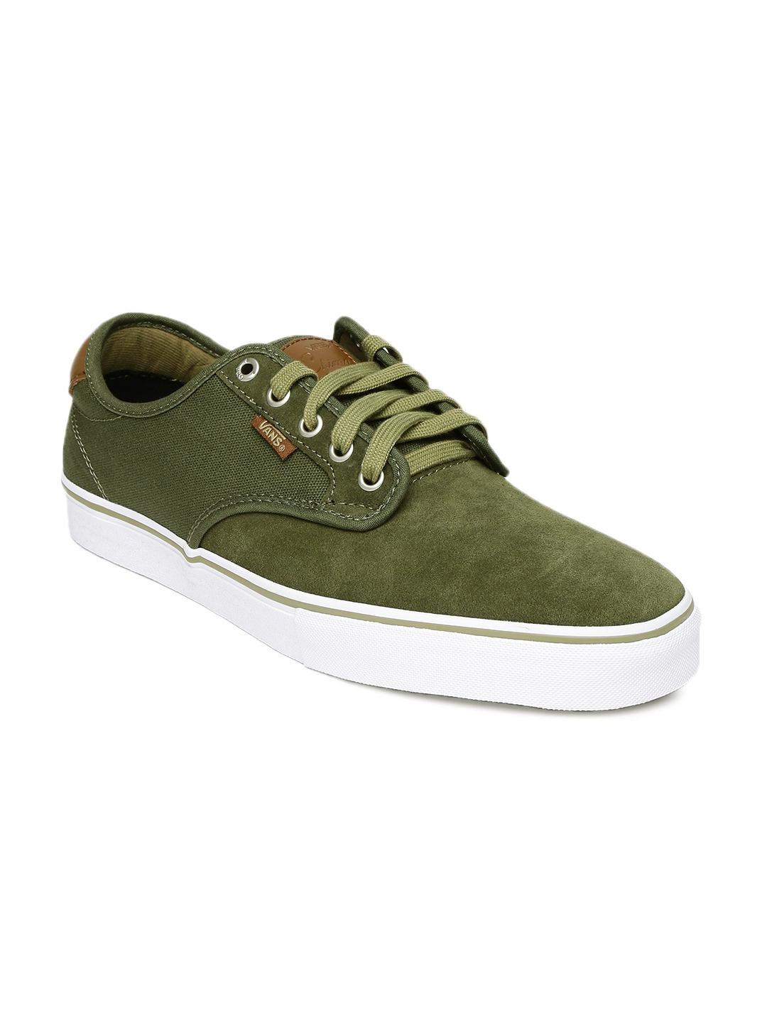 e4f8f46e16 Buy Vans Men Olive Green Chima Ferguson Pro Skate Shoes - Casual ...