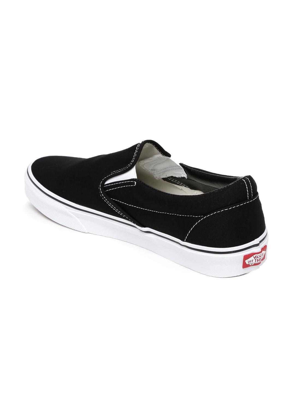 b6b3724ee0b7a2 Buy Vans Men Black Classic Slip On Sneakers - Casual Shoes for Men ...