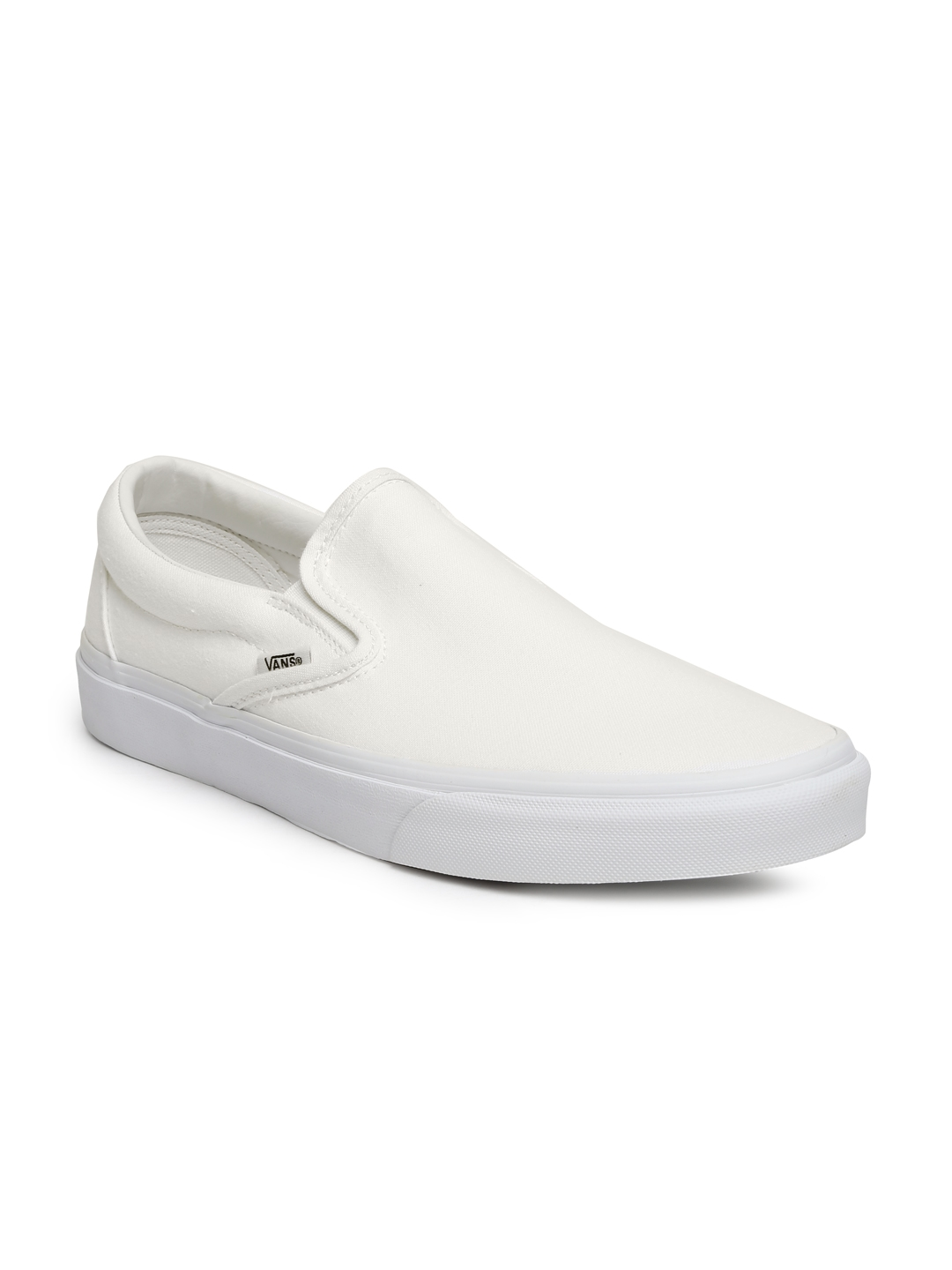 58ef2508a6 Buy Vans Men White Classic Slip On Sneakers - Casual Shoes for Men ...