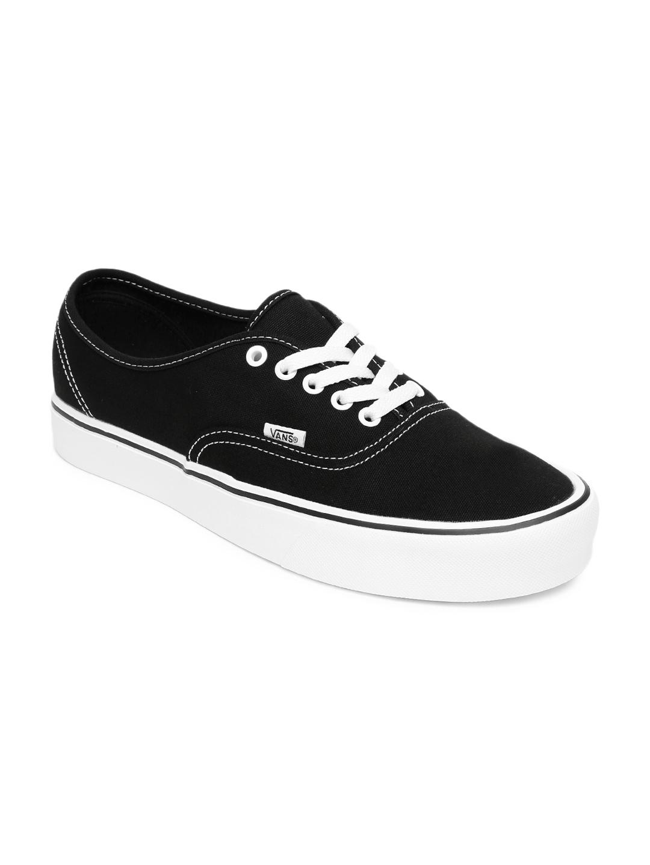 Buy Vans Men Black Authentic Lite