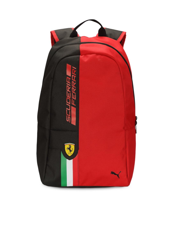 1dfa0c8d15 Buy PUMA Unisex Red   Black Ferrari Fanwear Backpack - Backpacks for Unisex  1479160