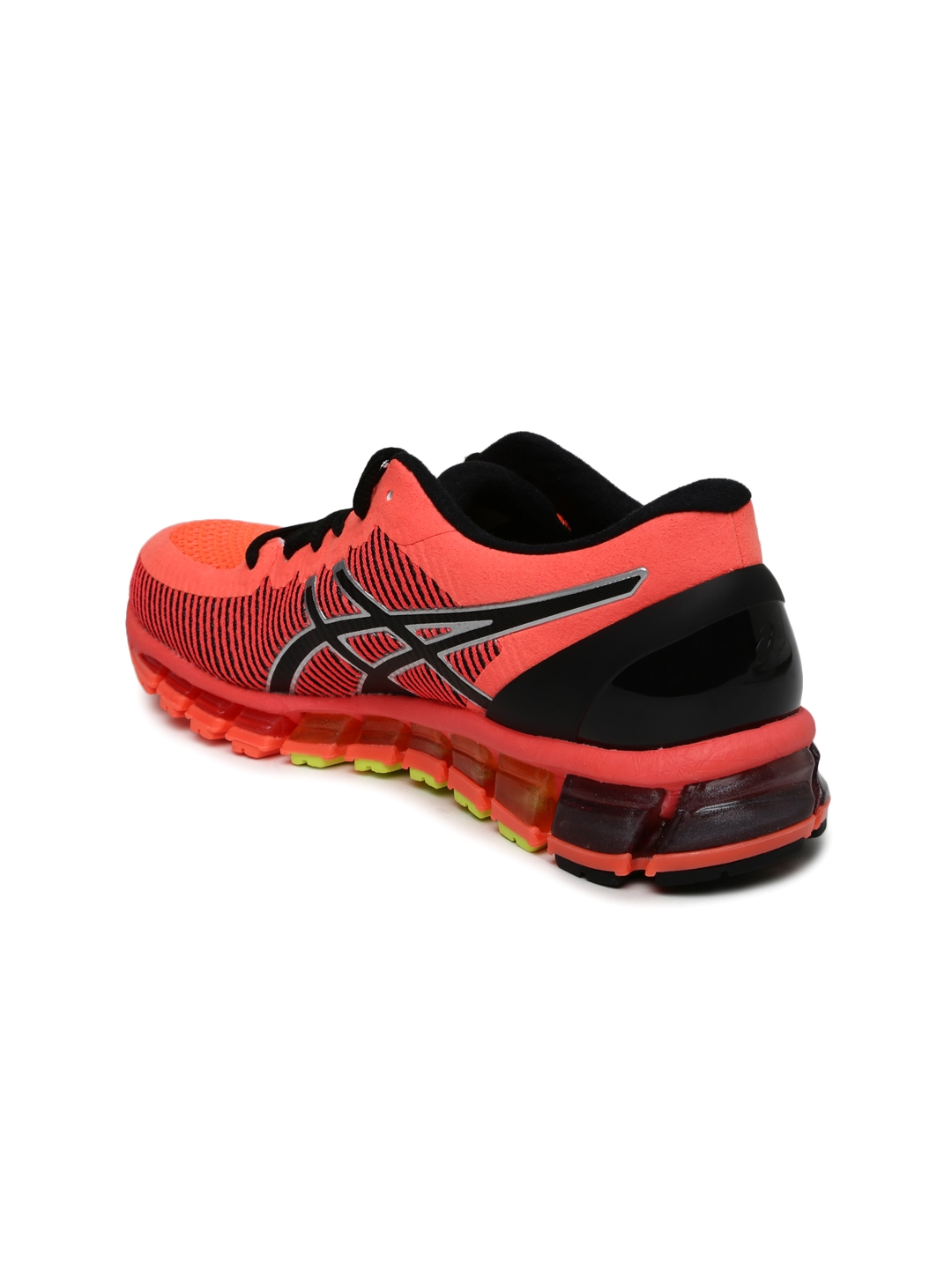competitive price b4458 fd2c3 denmark asics women neon orange gel quantum 360 2 running shoes 8c6b3 e6848