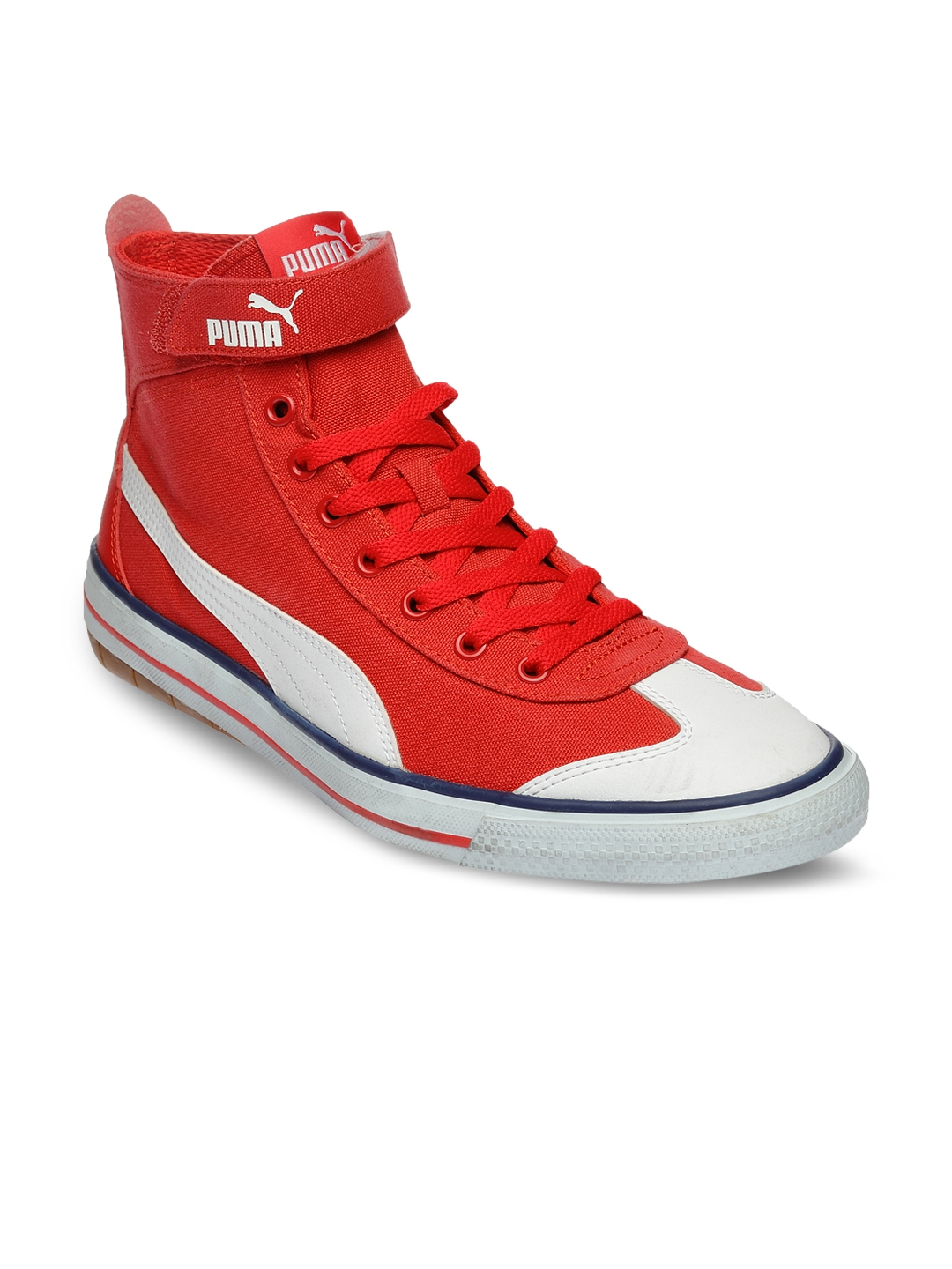 17597598c39 Buy Puma Men Red 917 Mid DP Casual Shoes - Casual Shoes for Men ...