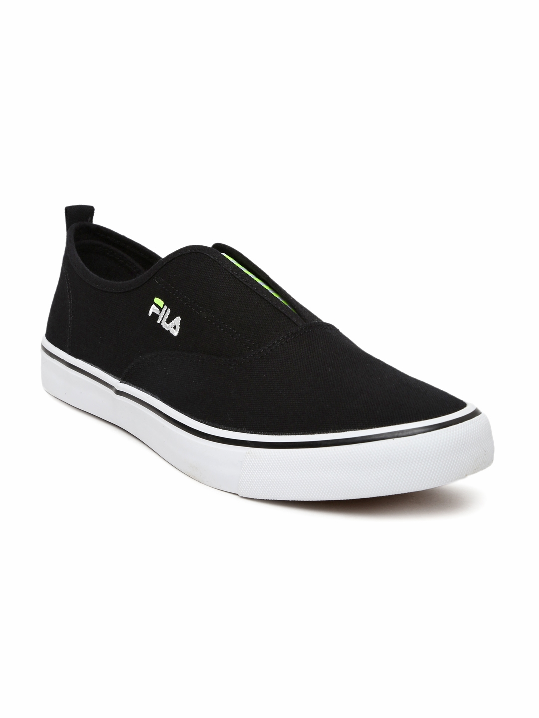 856344732023 Buy FILA Men Black Maddox Slip Ons - Casual Shoes for Men 1481074 ...