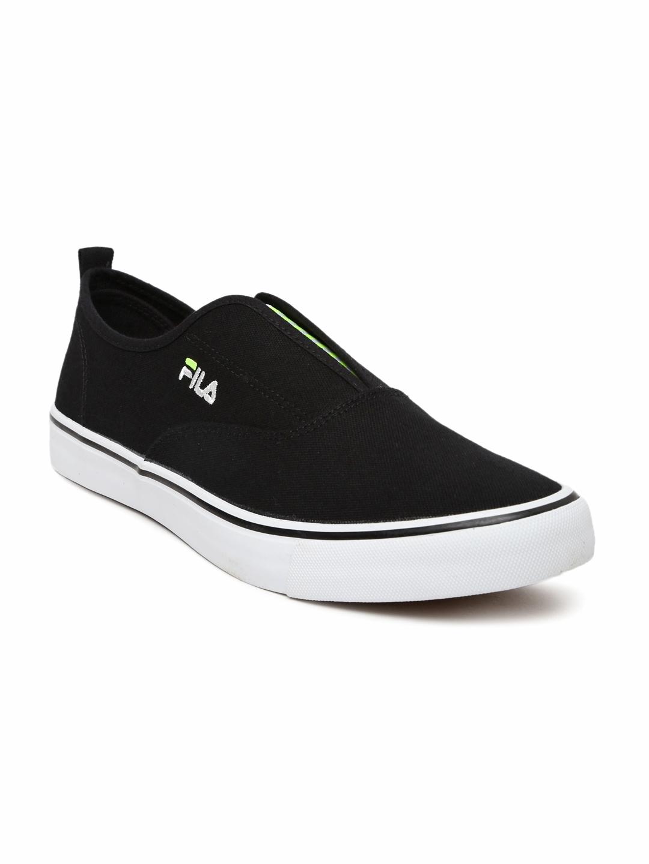 3f6a99d8963c Buy FILA Men Black Maddox Slip Ons - Casual Shoes for Men 1481074 ...