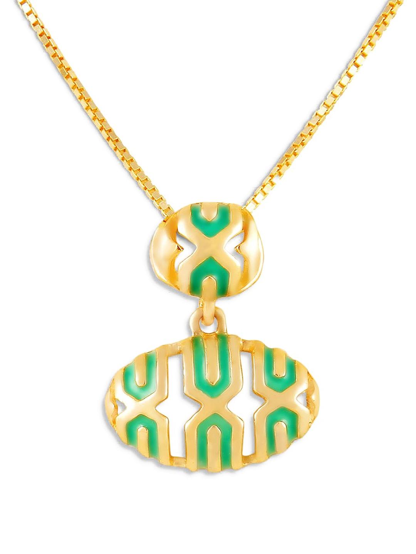 Mia by Tanishq 14KT Yellow Gold Precious Plain Pendant