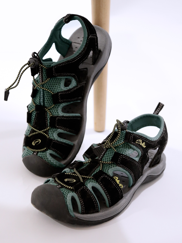 e69763d647469d Buy Boltio Men Black   Grey Sports Sandals - Sports Sandals for Men 1482567
