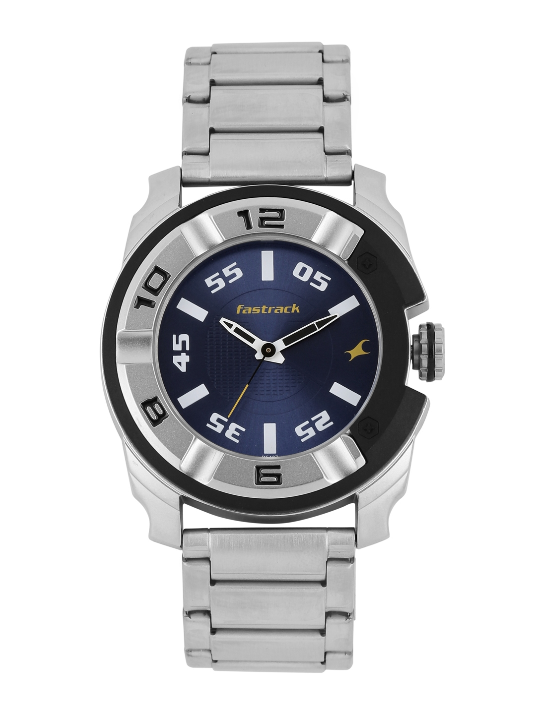 Fastrack Men Navy Dial Analogue Watch 3150KM01