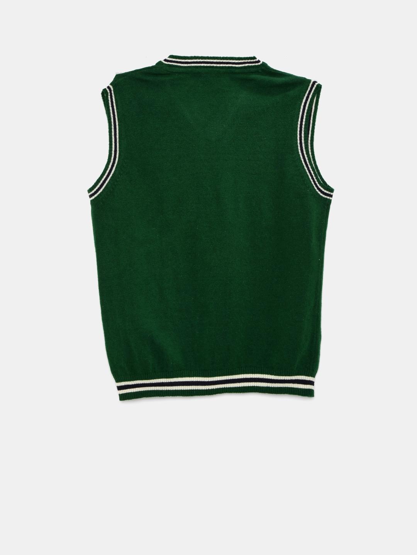 1c80555d751d Buy U.S. Polo Assn. Kids Boys Green Sleeveless Sweater - Sweaters ...