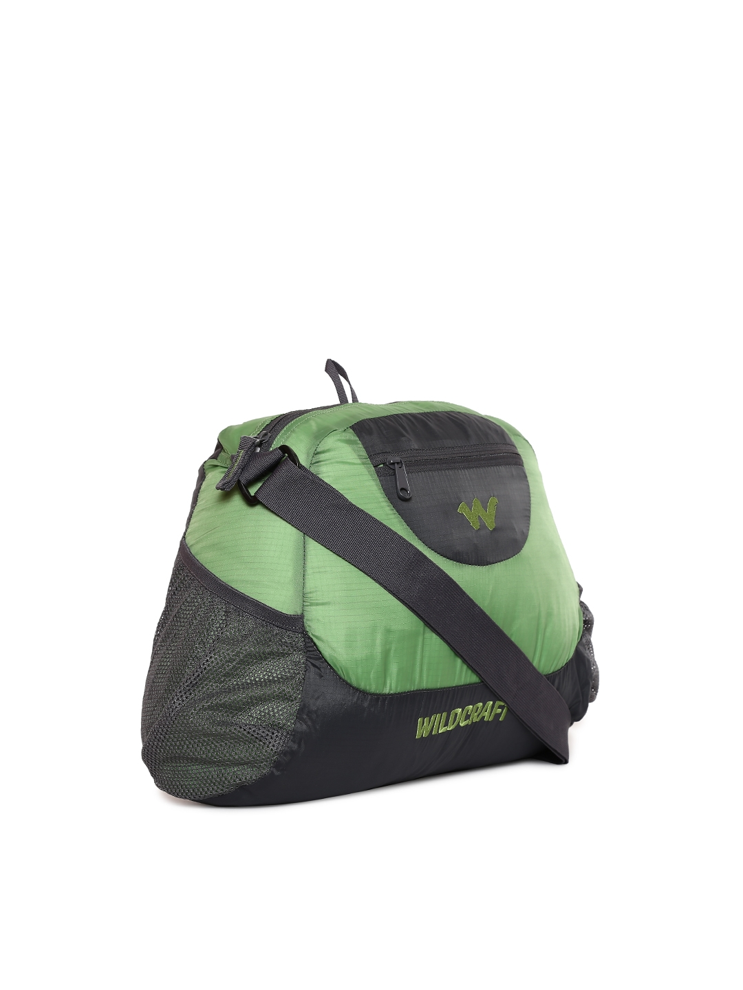 b3f1dc70a54 Buy Wildcraft Men Green   Grey Pac N Go Foldable Messenger Bag ...