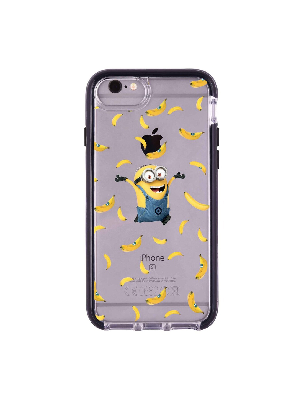 macmerise Yellow   Blue Go Bananas Pattern iPhone 6 Back Case