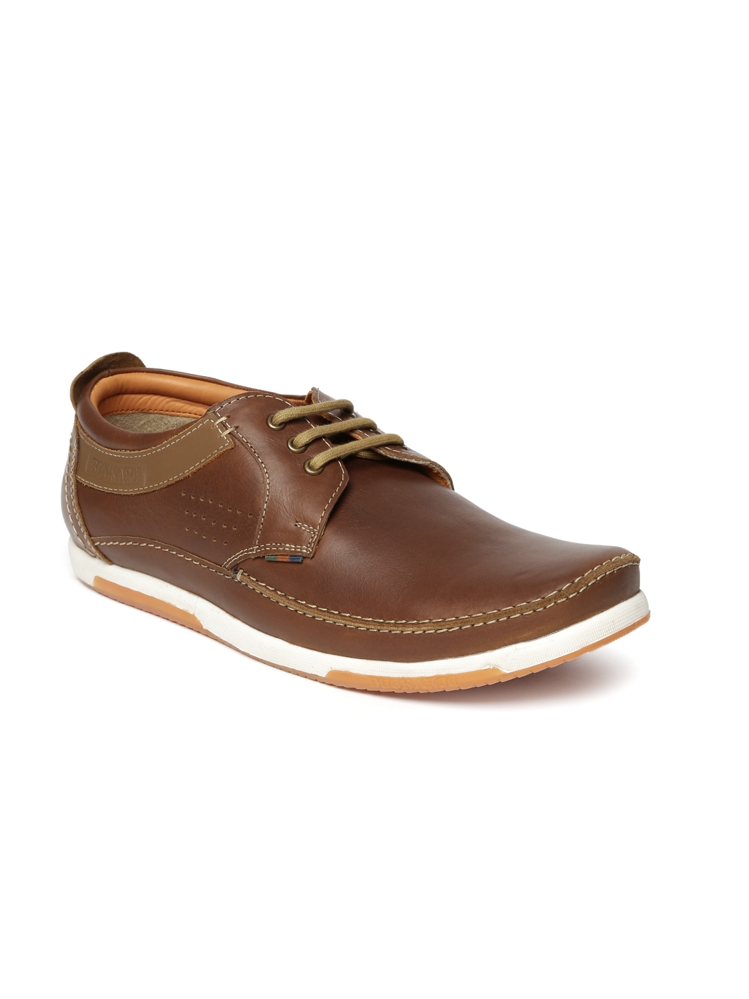 150359367d5 Buy Buckaroo Men Brown Trenton Leather Sneakers - Casual Shoes for ...