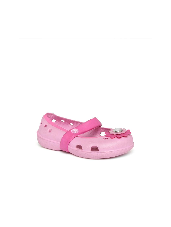 2b08c2777 Buy Crocs Girls Pink Mary Janes - Flats for Girls 1492058