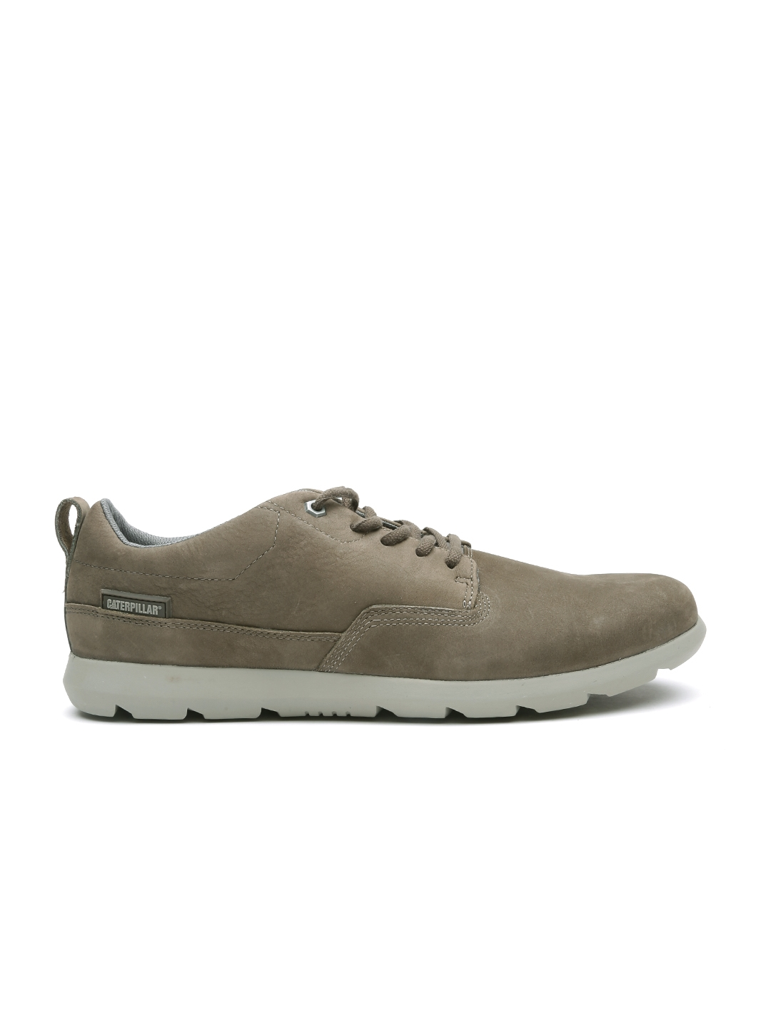 998808ade50 Buy CAT Men Olive Brown Roamer Lo Leather Casual Shoes - Casual ...